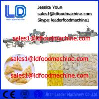 Big Quality 2D 3D snack pellet processing line, puffed / Extruded food making machinery