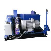 Electric Mine Machine With Grooved Sleeve  , Windlass Machine With Winch Controller