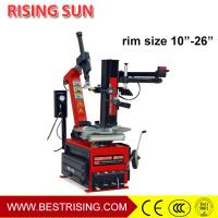 Tilt back automatic tire repair equipment used for tire changer
