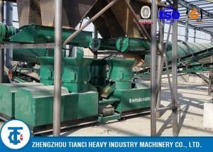 China Compost Fertilizer Production Line , Organic Fertilizer Making Machine on sale