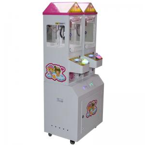 China Coin Pusher Claw Crane Machine / Gift Vending Crazy Claw Machine 2 Players on sale