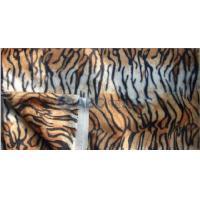 Print Velour Fabric