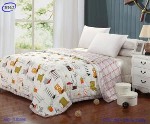 China Cartoon dog logo new product soft cotton quilt with comfortable cotton fabric made in chin on sale