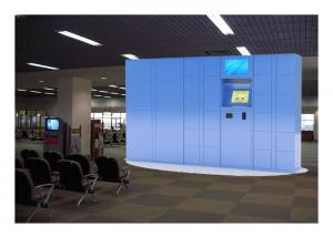China Intelligent Electronic Locker Rental In Public For Charging Phone With Windows System on sale