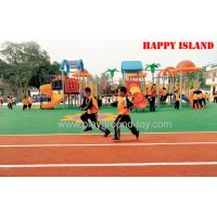 Customized  EPDM Playground Floor Mat ,  Outdoor Playground Mats