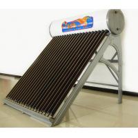 167L Non-Pressurized Solar Water Heater For Solar Project , Galvanized Sheet