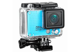 China Professional Sports Video Cameras Underwater WIFI Action Camera 60M Waterproof For Diving on sale