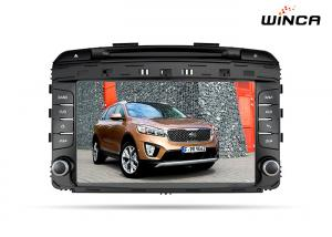 China Kia Sorento 2015 Auto Radio Car Gps Navigator With TPMS Rear View Camera on sale