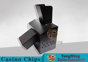 China Black Automatic Casino Game Accessories For Cutting Off Broken Poker Cards on sale