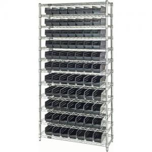 China Chrome Plated Wire Mesh Shelves , Industrial Wire Rack For Clean Room / Workshop on sale