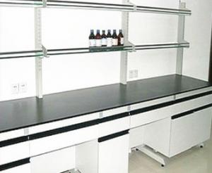 China Mobile Biology Lab Modular Laboratory Furniture Bench With Sink And Socket on sale