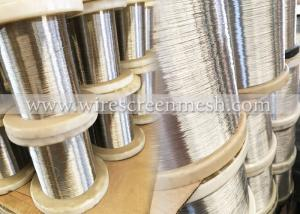 China High Tensile Stainless Steel  Wire , Soft Thin Metal Wire Acid Resistance on sale