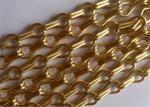 Decorative Hanging Aluminum Wire Chain Link Curtain for Doors ,Fly Window Screen