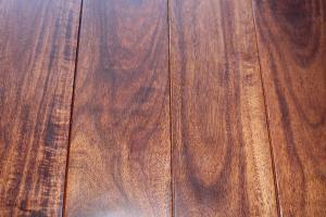 China asian walnut short leaf acacia flooring on sale