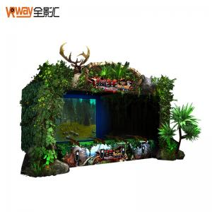 China 4D Crazy Motion Sensing Games Hunting Game Simulator Multiple Player Support on sale