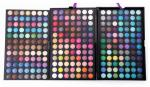Custom Eye Makeup Cosmetics Fall Color Rainbow Eyeshadow Palette For Blue Eyes