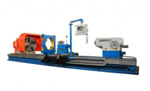 China Professional Grinding Lathe Machine , Horizontal Surface Grinder For Oil Drill Pipe on sale