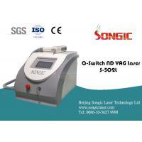 Q Switch ND YAG Laser Tattoo Removal equipment for eyebrow line, sunburn spot