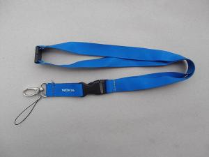 China Heat transfer colorful neck lanyard for badge holder, transfer print with dye sublimation, on sale