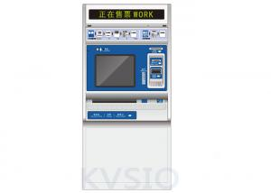 China Compact Structure Ticket Vending Machine Cash Acceptor Design Internal Ventilation System on sale