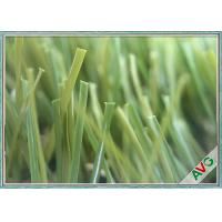 China Anti - Wear Landscaping Artificial Grass With Field Green / Apple Green Color on sale
