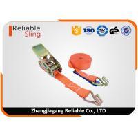 1 inch European type light duty mini ratchet transom tie downs with wire hooks