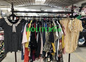 China Various Types Used Womens Clothing Holitex Second Hand Ladies Cotton Blouse on sale