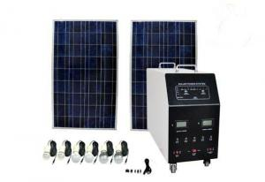 China 1200W AC Solar Power System , Off Grid Residential Solar Power Systems on sale