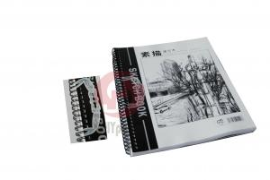 China Wire - O or spiral bound greybeard paper paperback Custom Coloring Book Printing online on sale
