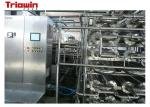 Automatic Tomato Paste Processing Line With Aseptic Filling Equipment Stainless Steel