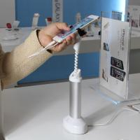 COMER Cellphone security display holder, cell phone security display easel with alarm