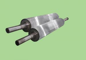China C Flute Corrugated Rollers Corrugation Machine Parts on sale