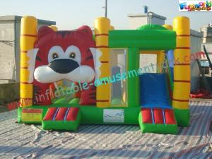 China Outdoor / Indoor Inflatable Water Slide Bounce House For Rent on sale