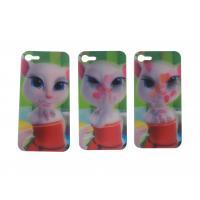 Custom Beautiful Flip 3d Lenticular Iphone Cases Lenticular Flip With 0.6mm Pet