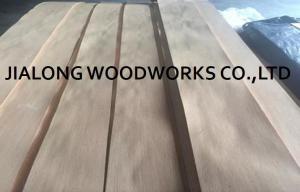 Quarter Cut Natural Red Oak Veneer Sheets 2 5m Length For