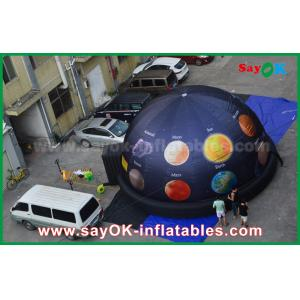 China 6m 210 D Oxford Cloth Portable Inflatable Planetarium Dome for Cinema with Full Printing on sale