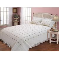 Microfiber / Cotton Full Size Bed Sets With Geometric Pattern Designs