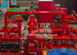 1000GPM@185PSI Skid Mounted Fire Pump NFPA20 Standard For