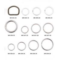 Casting Lanyard Parts Round Ring Stainless Steel Environmental Protection