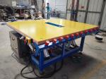 Air Float Application Table with Tilting&Vacuum Suckers,Warm Edge Spacer Air Float Application Table
