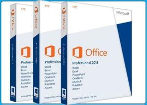 China FPP License Office 2013 Professional Retail , Microsoft Office 2013 Retail DVD on sale