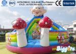 China Seven Dwarfs Inflatable Bouncer Commercial With Slide PVC Playground wholesale