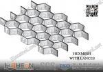 3/4 depth X 16gauge AISI304 Stainless Steel Hex-mesh 36X120   China Hexsteel Manufacturer