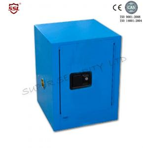 Quality Blue Single Door Storage Cabinet For Chemical Flammables , Bench Top for sale