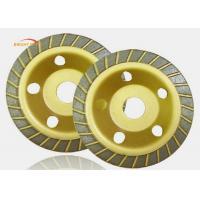 Proper Viscosity 180mm Grinding Cup Wheels With Soft / Medium / Hard Hardness