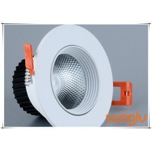 China Aluminium Body Bathroom LED Downlights , Anti Glare LED Ceiling Downlights on sale