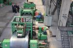 0 - 40 M/máquina que raja de acero mínima peso 480 de la bobina de 12 toneladas - 520m m arrollan la identificación