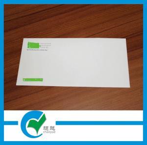 China 230g Custom Envelope Printing , Self Adhesive Seal White Kraft Paper Envelope on sale