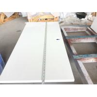 Solid White Quartz Countertops That Look Like Marble , Engineered Granite Countertops