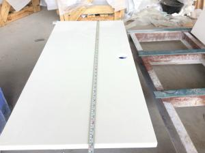 China Solid White Quartz Countertops That Look Like Marble , Engineered Granite Countertops on sale